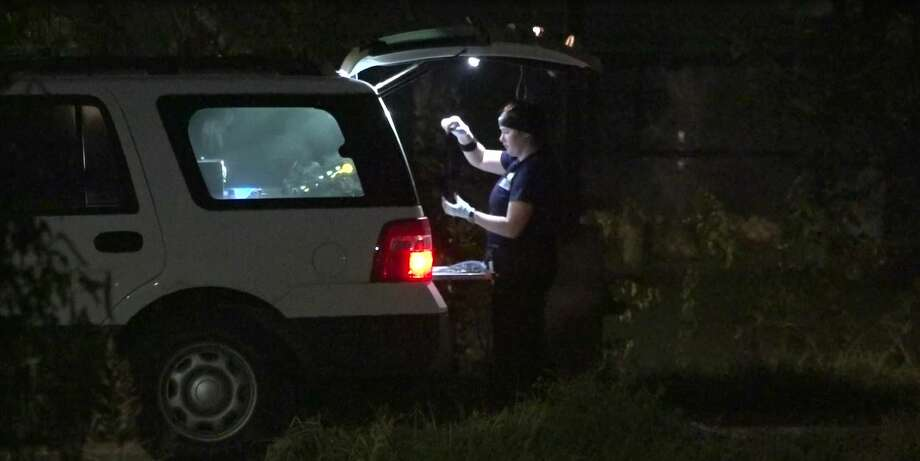 A man was found shot dead inside a vehicle in south Houston. Photo: OnScene.TV
