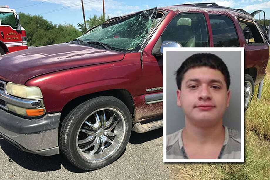 A Laredo teen has been arrested for the human smuggling attempt that ended with the suspect vehicle rolling over and injuring several people, state authorities said. Photo: Courtesy