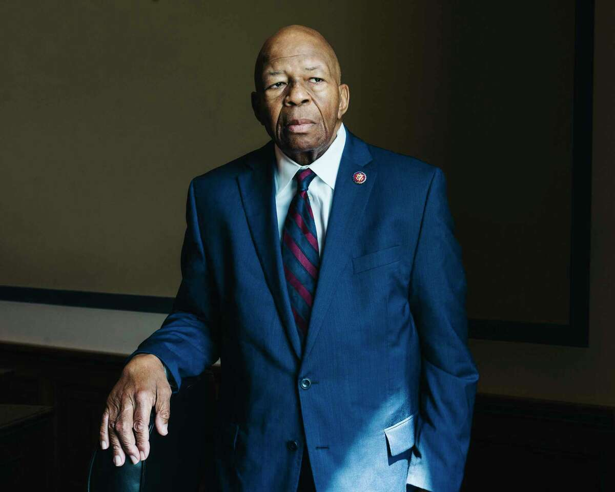 FILE -- Rep. Elijah Cummings (D-Md.), in Washington, May 2, 2019. Cummings, who died at 68 on Oct. 17, 2019, will lie in state in the Capitol in tribute to a career in which he rose from sharecroppers' son to one of the most powerful Democrats in Congress. (Justin T. Gellerson/The New York Times)