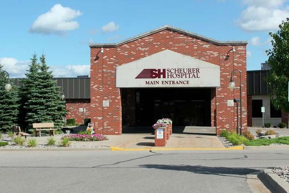 Scheurer Hospital in Pigeon. The ScheurerHealthcare Network received between $5 and $10 million from the Paycheck Protection Program and was able to retain 442 jobs. (Tribune File Photo)