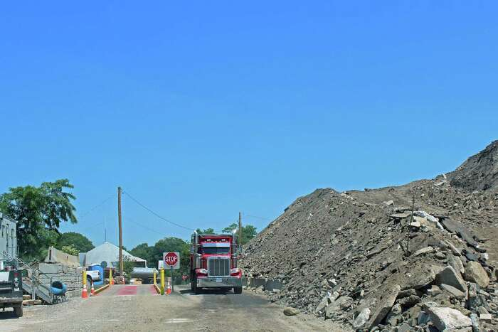 The controversial Fairfield Public Works fill pile.