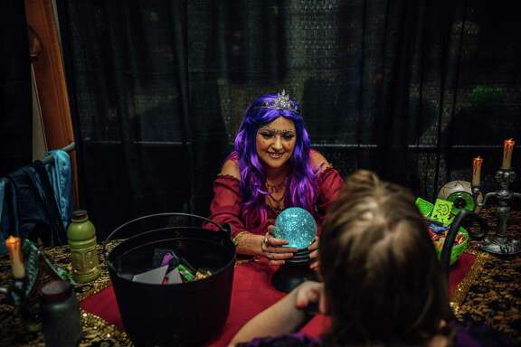 Piper Wilson participates in a previous Halloween event in Deer Park