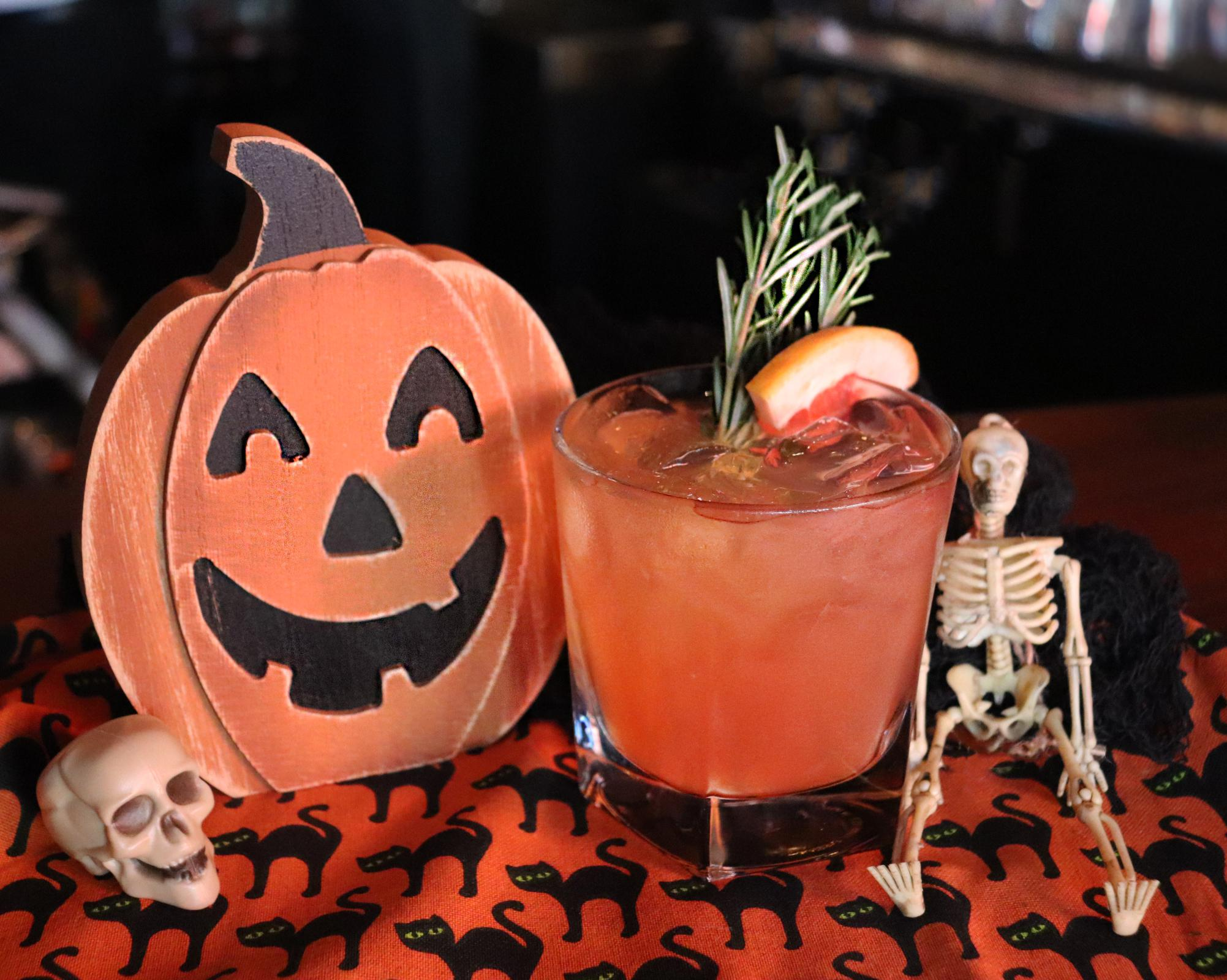 Boo! This Halloween cocktail is for you