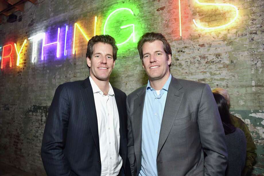 LOS ANGELES, CA - FEBRUARY 13: Cameron Winklevoss (L) and Tyler Winklevoss attend Hauser & Wirth Los Angeles Opening of Annie Leibovitz and Piero Manzoni and Musical Performance by Patti Smith at Hauser & Wirth on February 13, 2019 in Los Angeles, California. (Photo by Stefanie Keenan/Getty Images for Hauser & Wirth) Photo: Stefanie Keenan / Getty Images For Hauser & Wirth / 2019 Stefanie Keenan