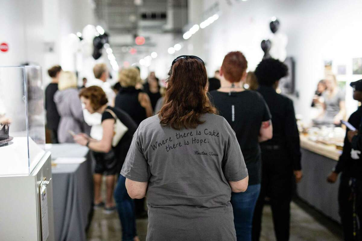 The Depressed Cake Shop returns to Houston on Sunday, Nov. 3, at Silver Street Studios. The one-day event offers cakes and baked goods with a gray theme in an effort to raise awareness and funds for The Montrose Center and NAMI Greater Houston.