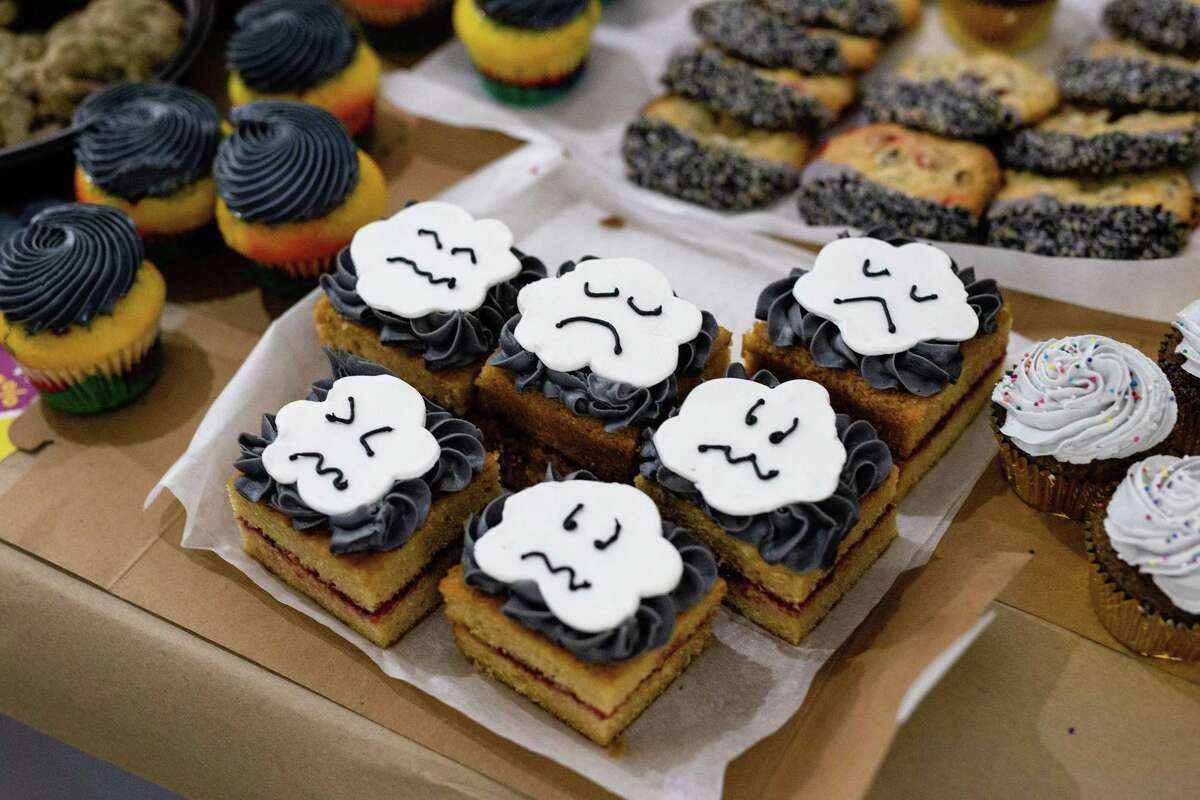 While the Depressed Cake Shop on Sunday, Nov. 3, at Silver Street Studios will have larger treats like whole cakes on sale to support The Montrose Center and NAMI Greater Houston, smaller items like cupcakes and cookies will also be available.
