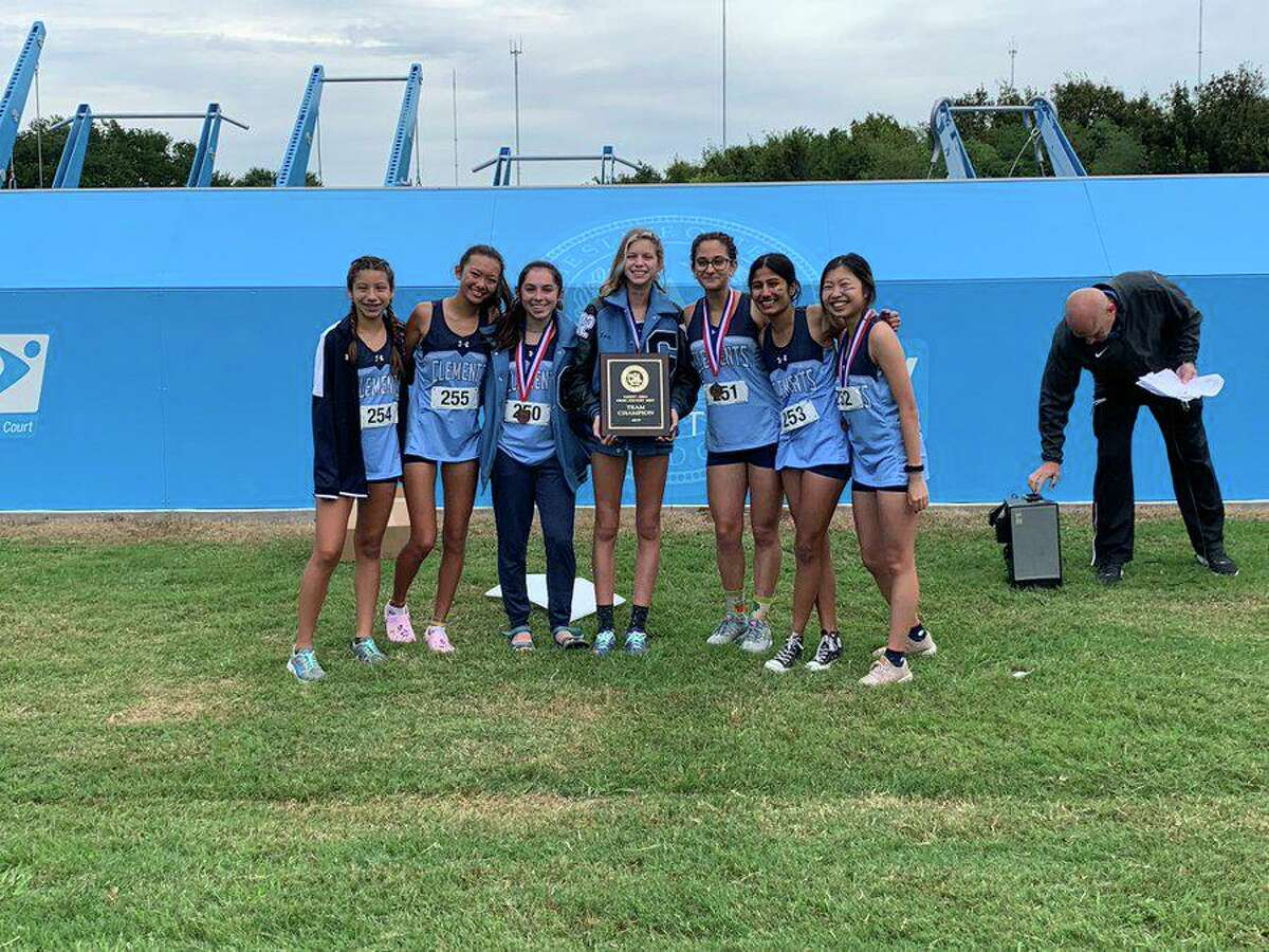 The Clements girls cross country team won the District 20-6A championship, matching Ridge Point with a score of 52 points and winning a sixth-runner tiebreaker.
