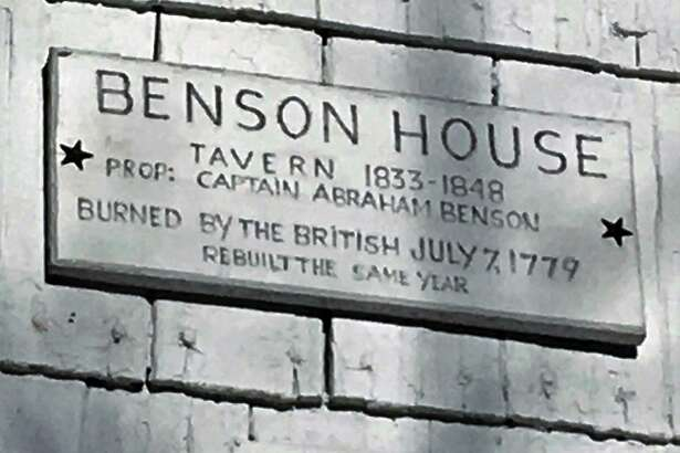A plaque on the Abraham Benson House indicates it was used as a tavern in the 19th century drawing famous patrons such as President Andrew Jackson and Daniel Webster.