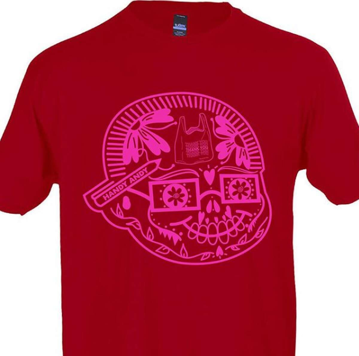 """BarbacoApparel, the San Antonio brand known creating T-shirts touting Tex-Mex pride, now has an """"Andy was Here"""" shirt to pay homage to Handy Andy grocery stores."""