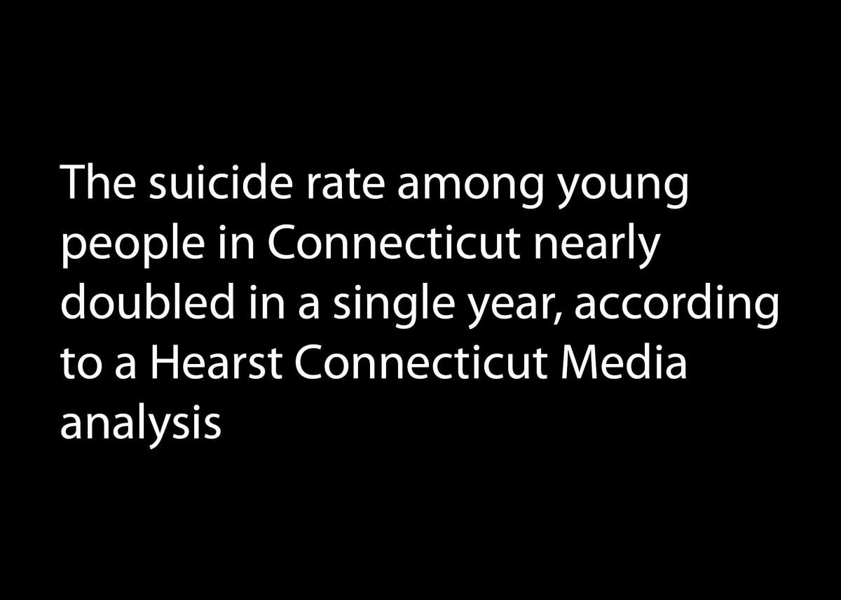 A look at suicide stats in Connecticut and the U.S.