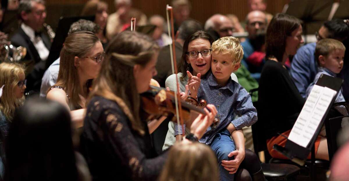 Audience members and musicians will sit side-by-side at Danbury Music Centre's concert at 6 p.m. this Saturday. This is the first time this InsideOut Concert will be performed in Danbury.