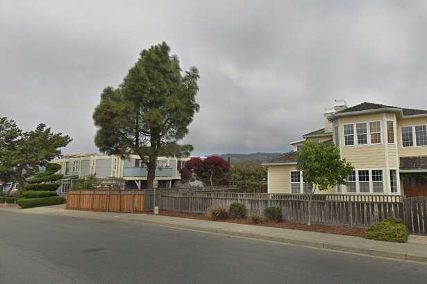 Homes are seen on Golden Gate Avenue in Half Moon Bay, the street where the crime occurred.