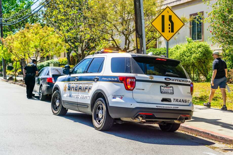 File photo of a San Mateo County Sheriff car. Photo: Andrei Stanescu/Getty Images