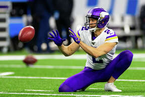 ©Quad N Productions for the Huron Daily Tribune. 10-20-19 Minnesota Vikings at Detroit Lions. The Detroit Lions lost to Michigan native Kirk Cousins and the Minnesota Vikings 42-30 on Sunday, Oct. 20, 2019, at Ford Field in Detroit.