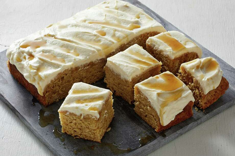 Sour Cream Maple Cake With Maple Buttercream Frosting Photo: Tom McCorkle / For The Washington Post / For The Washington Post