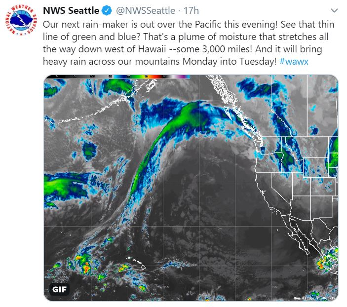 Heavy rain incoming in Seattle -- but when will it dry up?