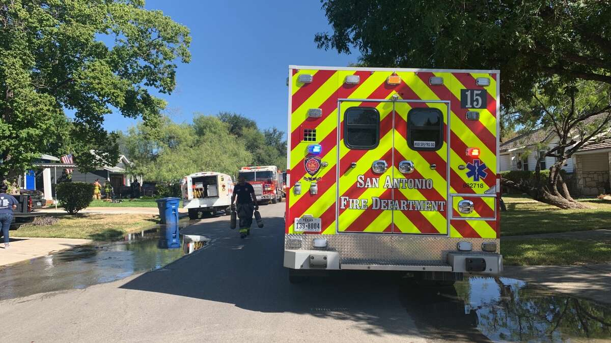The San Antonio Fire Department is investigating a structure fire in the 2300 block of Texas Avenue Monday afternoon.