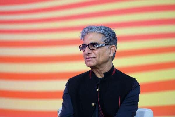Deepak Chopra on Tuesday, April 9, 2019 -- (Photo by: Nathan Congleton/NBC/NBCU Photo Bank via Getty Images)