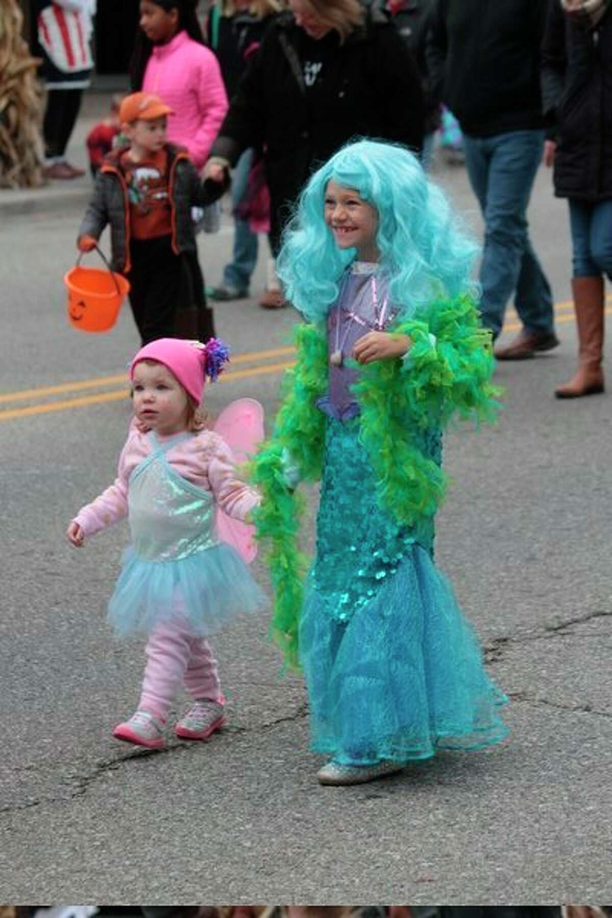 Along with a variety of other safety tips, the Michigan State Police suggest trick-or-treaters stay in groups and only walk in well-lit areas. (Star file photo)