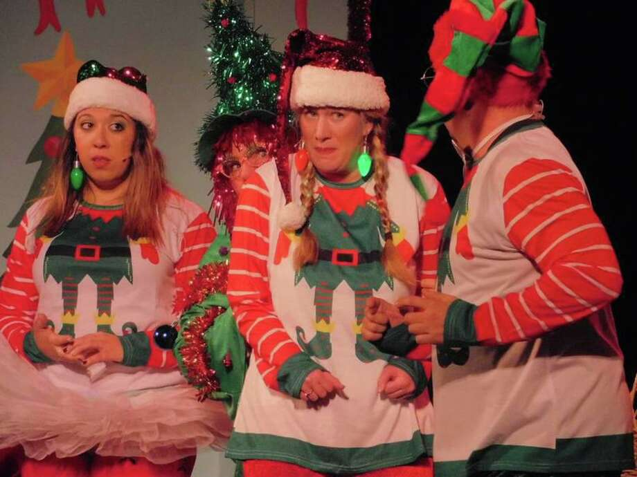 """The Elf Christmas Spectacular,"" a whimsical tale of an elf who goes to hilarious lengths to win a talent competition and a spot on Santa's sleigh on Christmas Eve, will be at The Klein Memorial Auditorium in Bridgeport for two performances on December 7. Photo: Www.theklein.org"