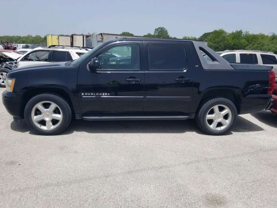 This 2008 black Chevy Avalanche is up for auction. Photo: SAPD