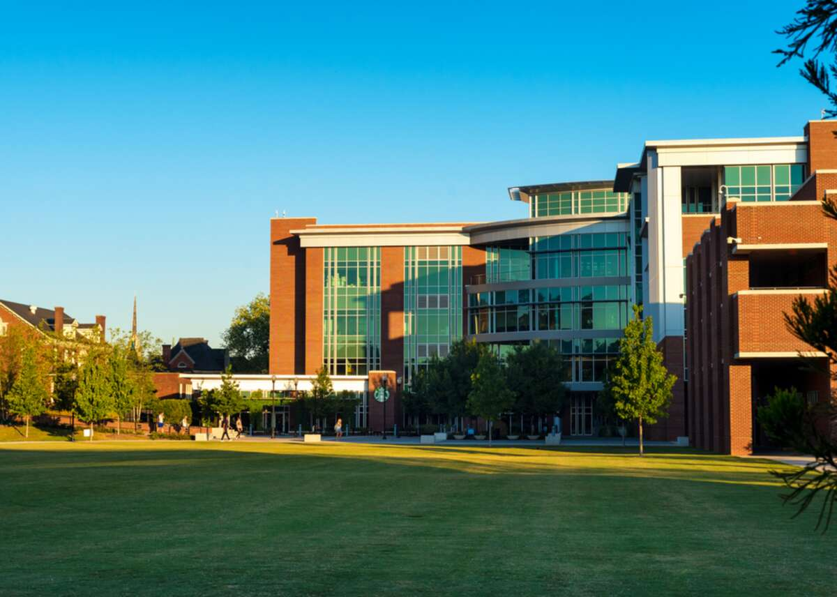 #49. University of Tennessee-Chattanooga - Location: Chattanooga, TN - Students: 8,962 - Acceptance rate: 83% - Graduation rate: 45% - Faculty ratio: 19:1 - In-state Tuition: $8,664 - Out-of-state tuition: $24,782 - Six-year median earnings: $38,100 UTC students tend to skew conservative, with many attending church services and holding conservative fiscal, social, and political beliefs. Locals highlight, however, that political divides are friendlier and more polite than they are elsewhere in the country, with residents often