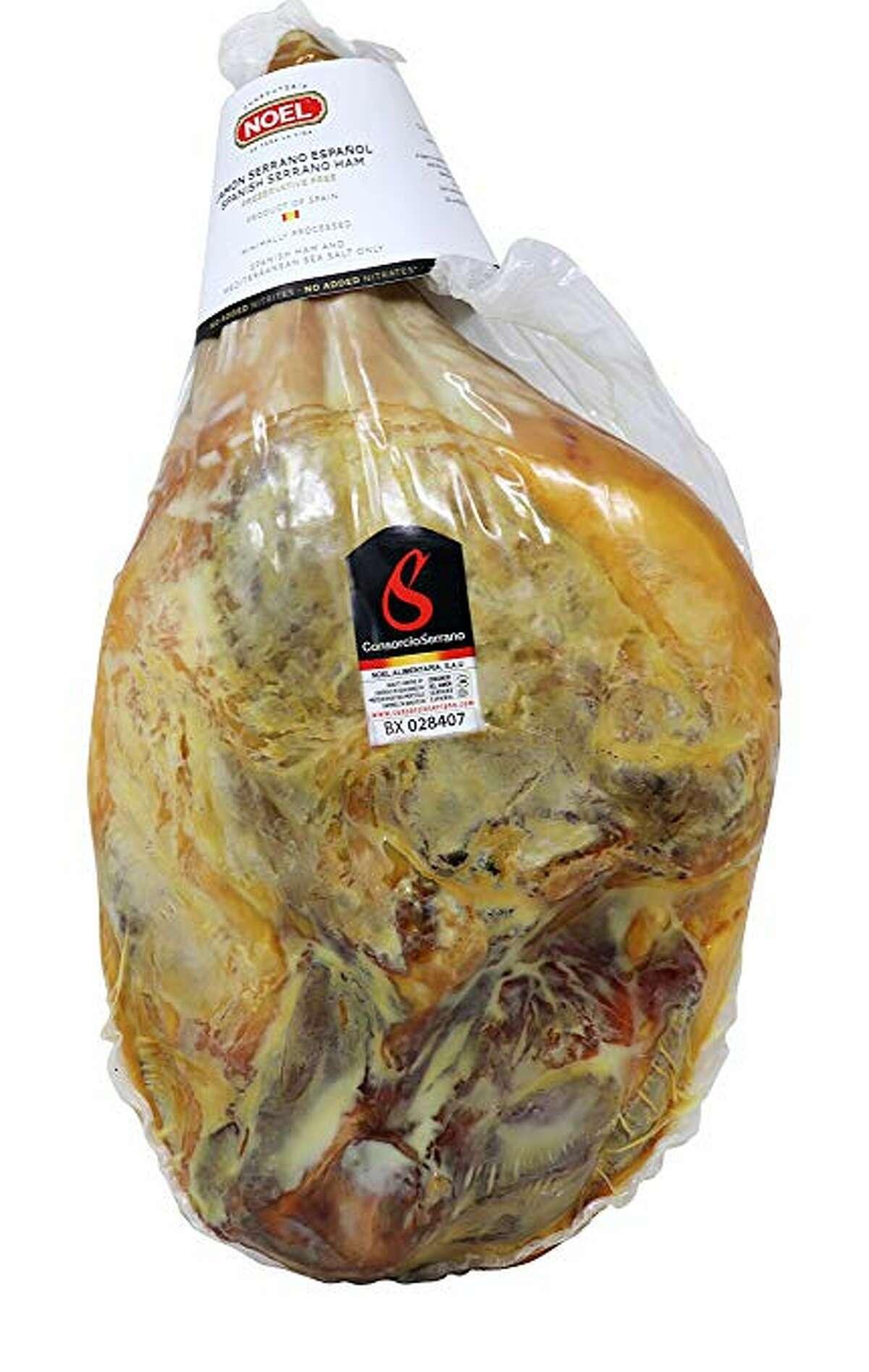 Noel Serrano ham available at Costco.
