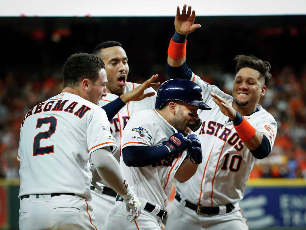 Houston will try to claim the club's second World Series in the past three seasons at Minute Maid Park Wednesday night. >> Click through the following gallery to see all of the best moments from the Astros' season so far.