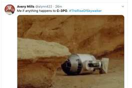 """Fans react to C-3PO's emotional line in the final trailer for """"Star Wars: The Rise of Skywalker."""""""