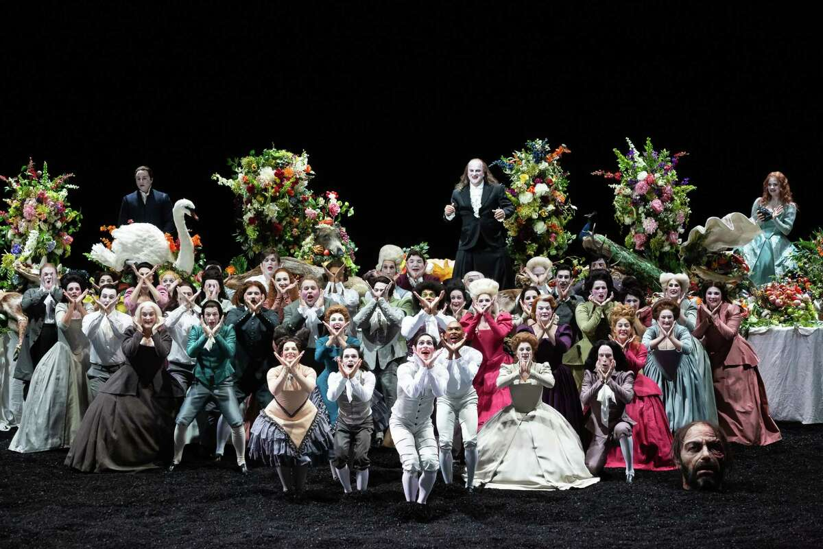 "The cast of the opera ""Saul"" at Houston Grand Opera"