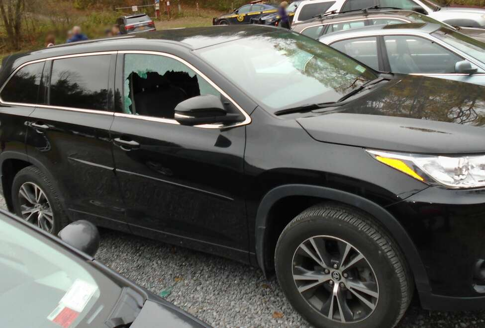 State Police hope the public can help them find whomever smashed car windows parks in the lot to the popular Vroman's Nose hiking area off of Route 30 in Middleburgh. The windows on several cars were broken and valuables were stolen during a spree that troopers said took place between 12:01 p.m. and 12:17 p.m. on Sunday. Troopers say five vehicles were targeted.