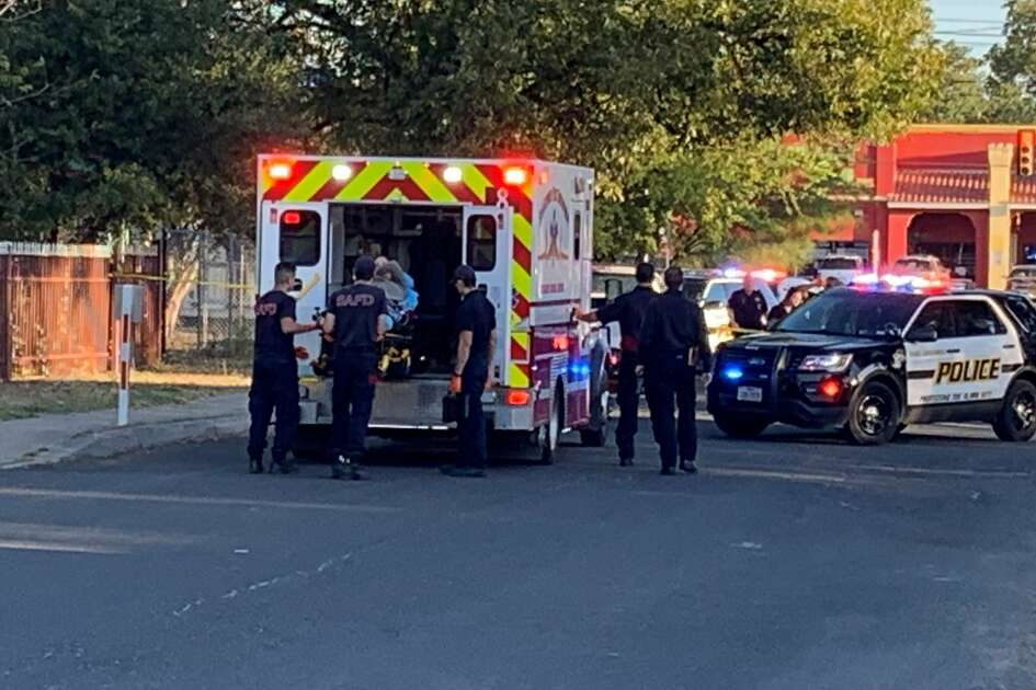 Police responded to the 1600 block of northwest 19th Street on the West Side just before 8 a.m. Tuesday for a man shot after trying to pick up his stepson from a residence.