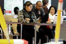 A Houston enrollment center for coverage under the Affordable Care Act.