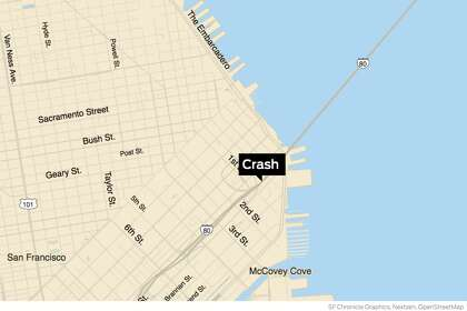 Crash near Bay Bridge in San Francisco causes severe traffic