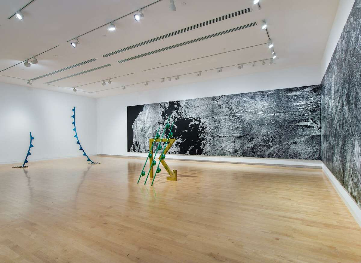 """The """"Weather Report"""" exhibit runs through March 29 at the Aldrich Contemporary Art Museum."""