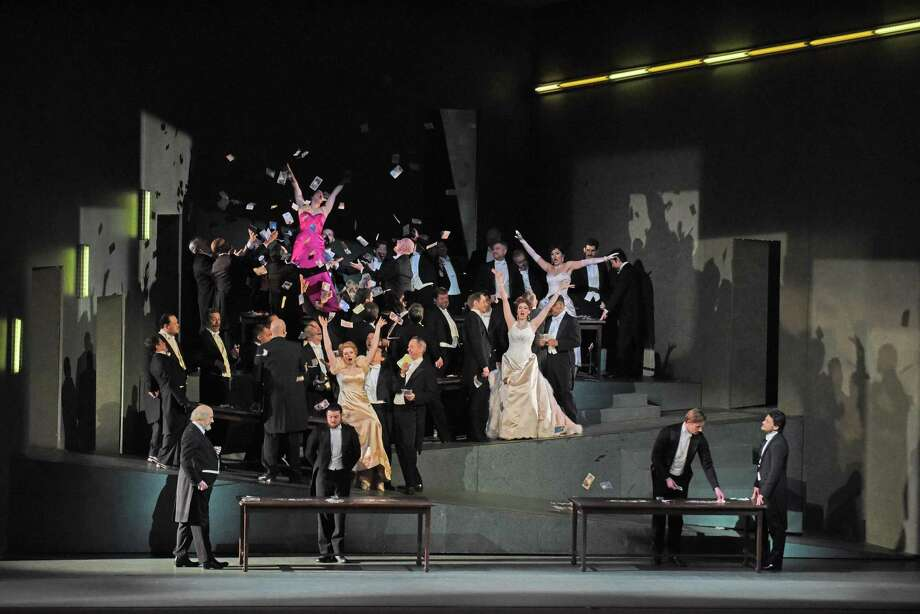 The Metropolitan Opera's Manon will be screened on Oct. 26 at 12:55 p.m. at the Ridgefield Playhouse, 80 East Ridge Road, Ridgefield. Tickets are $15-$25. For more information, visit ridgefieldplayhouse.org. Photo: Metropolitan Opera / Contributed Photo
