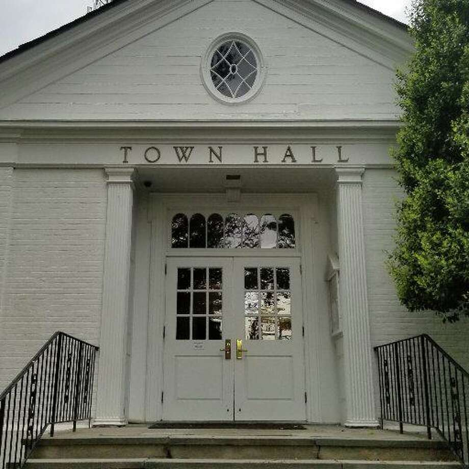Weston Town Hall at 56 Norfield Road in Weston. Photo: Town Of Weston Twitter