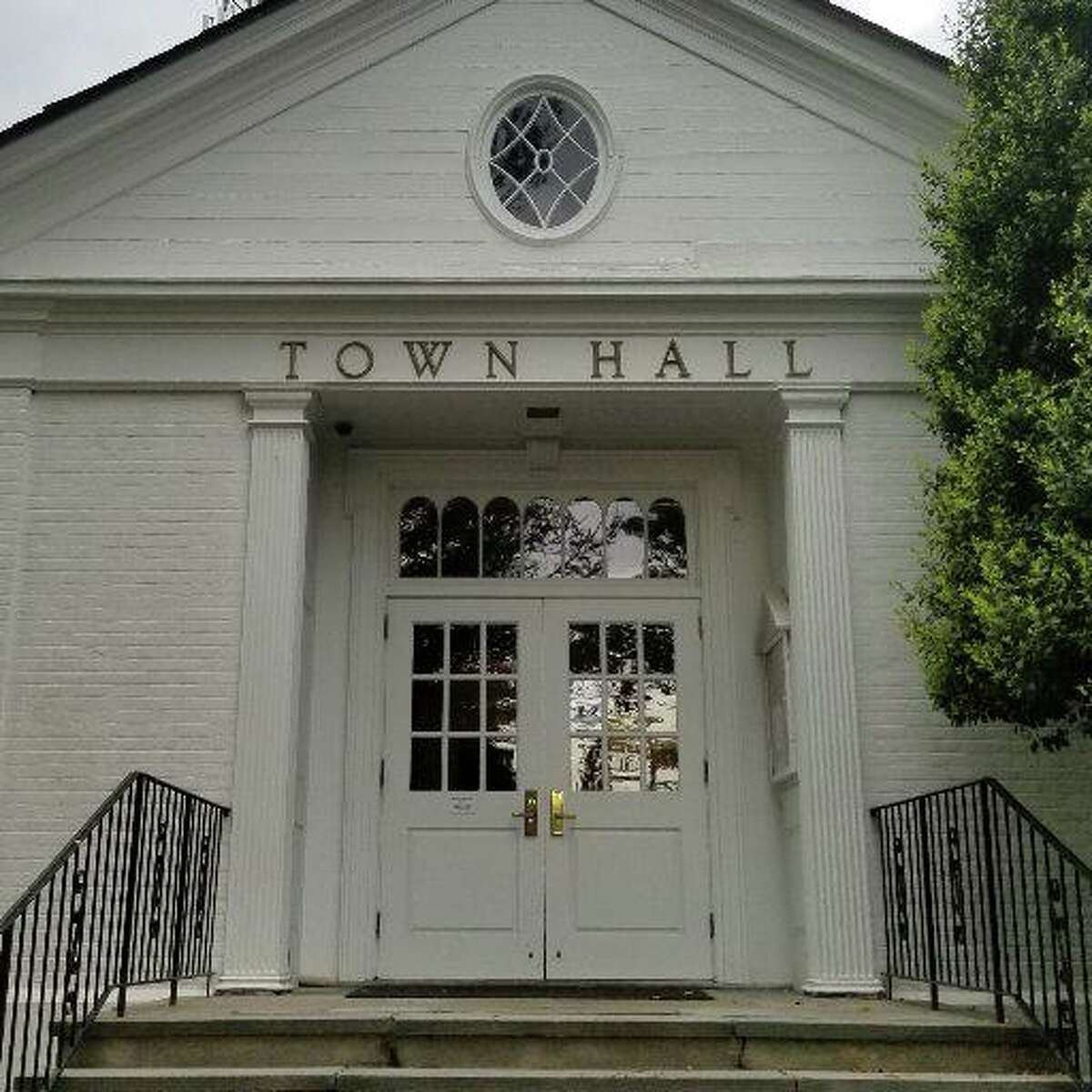 Weston Town Hall at 56 Norfield Road in Weston.