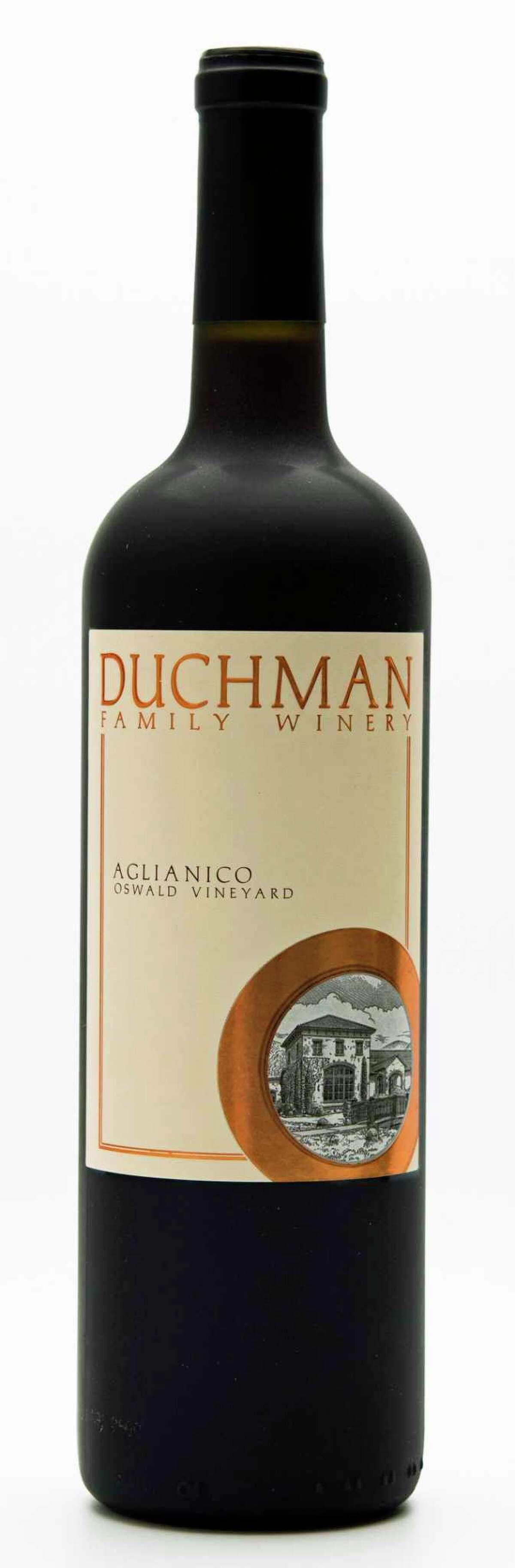 2015 Duchman Family Winery Aglianico, Oswald Vineyard