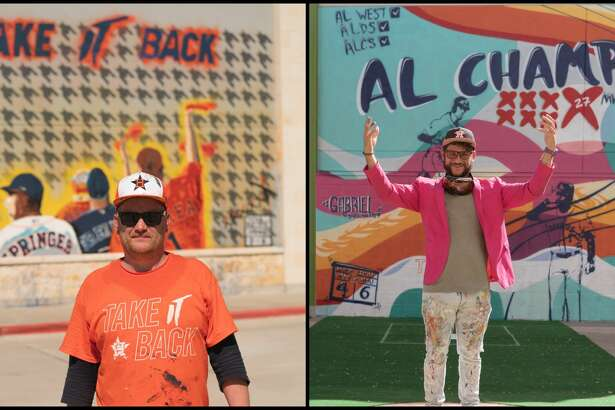 PHOTOS: Astros murals around HoustonIn honor of seven playoff wins, seven brand new Astros-themed masterpieces have popped up around town.>>>See all of the new Astros murals and where to find them here...