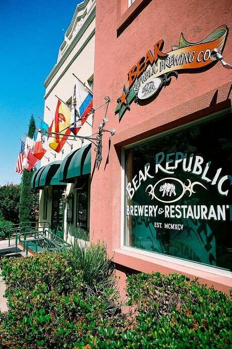 Bear Republic Brewing Company's Healdsburg outpost is shutting down in November. Photo: San Francisco Chronicle