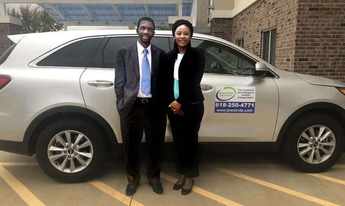 Tapiwa and Rutendo Mupereki has launched JewelRide, a non-emergency medical transportation company, based in Edwardsville, now providing service to communities in Madison and St. Clair counties.