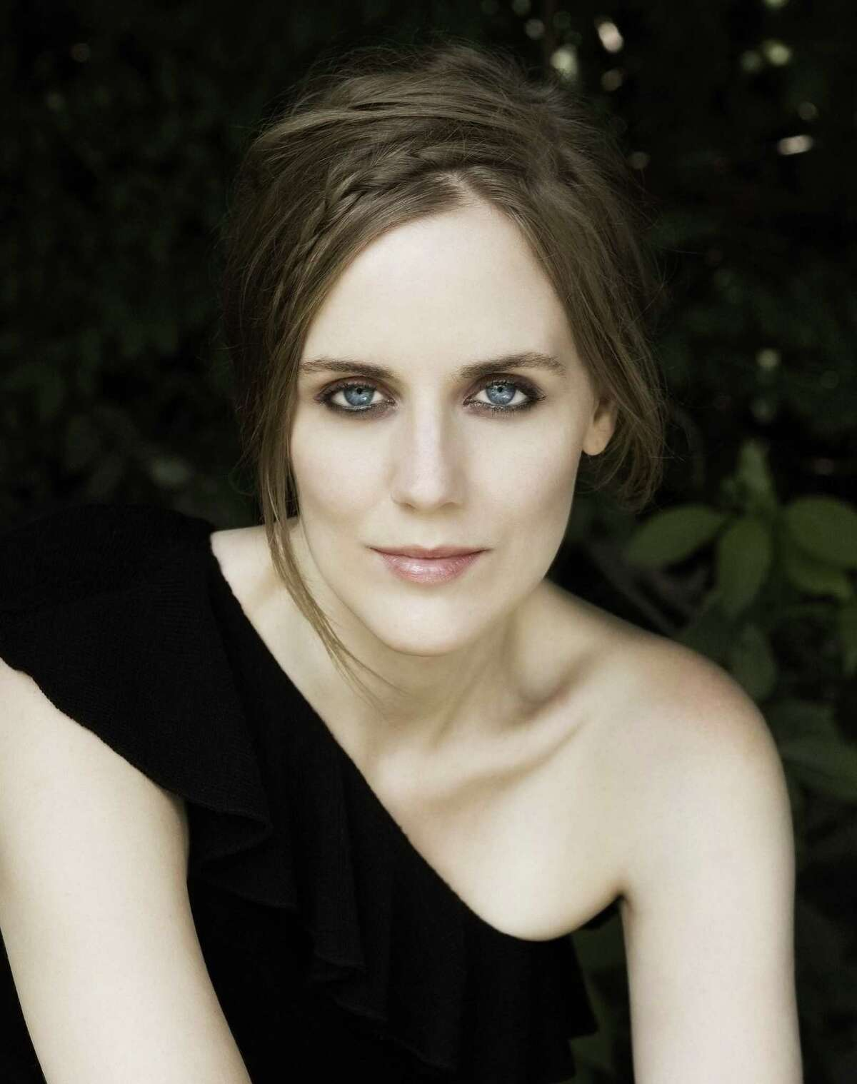 """Mezzo-soprano Rebecca Ringle Kamarei will be the soloist on songs by Charles Ives and Maurice Ravel at the Norwalk Symphony's """"American Connections"""" concert."""
