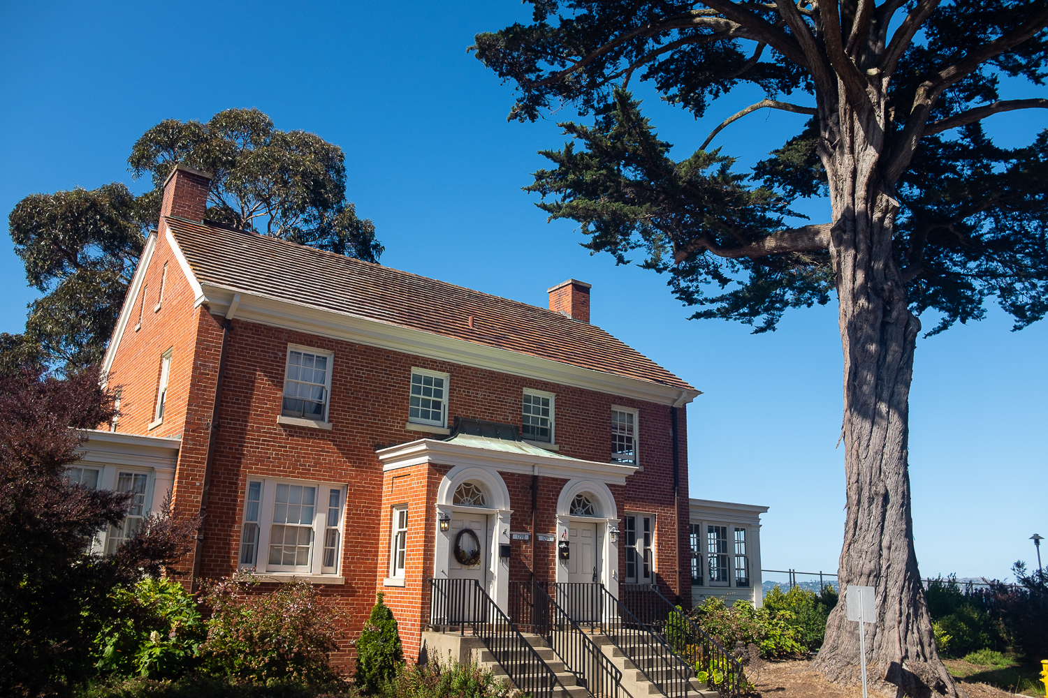 We toured inside the Presidio's stunning former military homes