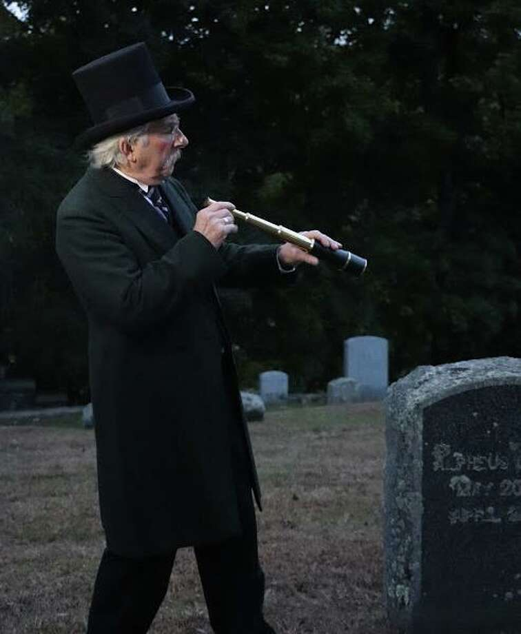 Ron Malyszka will portray Alpheus Baker in the 12th annual Washington Green Cemetery Tour, which will be held from 6:30 to 8:30 p.m. Friday. Photo: Contributed Photo / The News-Times Contributed