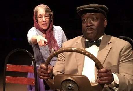 """Anna Gangai (left) and Keith Wilson star in the Sheldon Vexler Theater's staging of """"Driving Miss Daisy."""""""