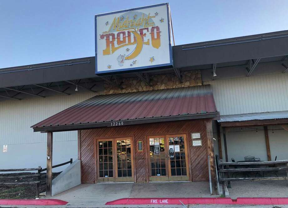 Midnight Rodeo, located at 12260 Nacogdoches Road, ceased operations in October after filed for bankruptcy. Read more: Midnight Rodeo has closed for good Photo: William Luther /Staff / ©2019 San Antonio Express-News