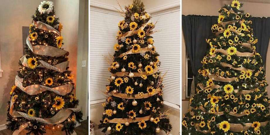 Sunflower Christmas trees might be this year\u0027s biggest trend