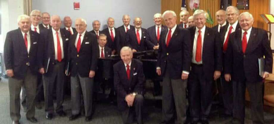 The Melody Men will perform at 1 p.m. Thursday at the Greenwich Senior Center, 299 Greenwich Ave. The Melody Men first performed at the 1975 Annual Dinner for the Retired Men's Association, and have been the Choral Community Outreach Group of the RMA ever since. Photo: Contributed / /