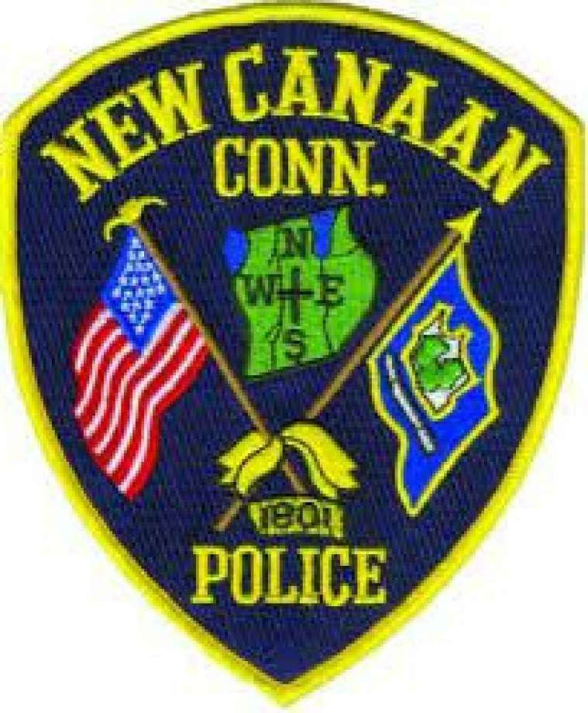 The next Coffee with a Cop event in New Canaan, Connecticut will be held on Thursday, Oct. 24, 2019, in the town's Mead Memorial Park. New Canaan Police Department badge / Contributed photo